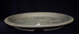 "Japanese #36-47 Brown Clay Unglazed 18""L Oval Forest Ceramic Bonsai Pot"