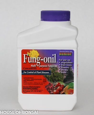 Bonide Fung-onil Multi Purpose Fungicide Concentrate 16 fl oz Bottle