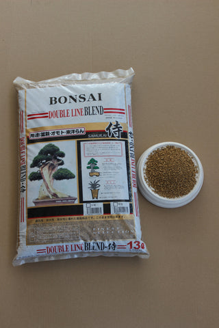 Akadama  blend soil XSmall (1 to 2mm ), shohin mame bonsai mix 20Lb, 13Liter