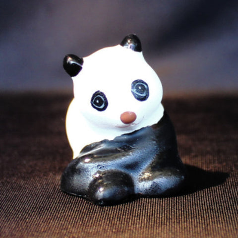 "1.5"" Panda Clay Bonsai Figurine"