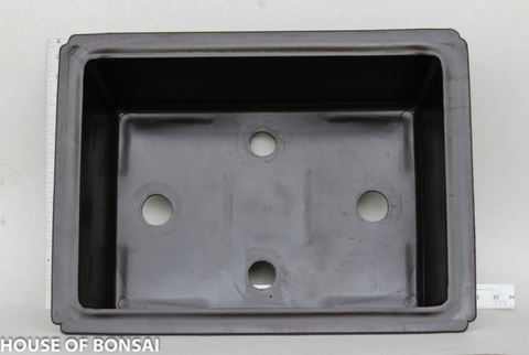 "17.25""L x 12.5""W x 5""D/ 2pcs   Bonsai  plastic pot"