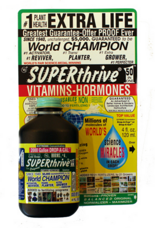 SUPERthrive: World Champion Plant Vitamin Mineral Hormone Solution - 4 oz Bottle