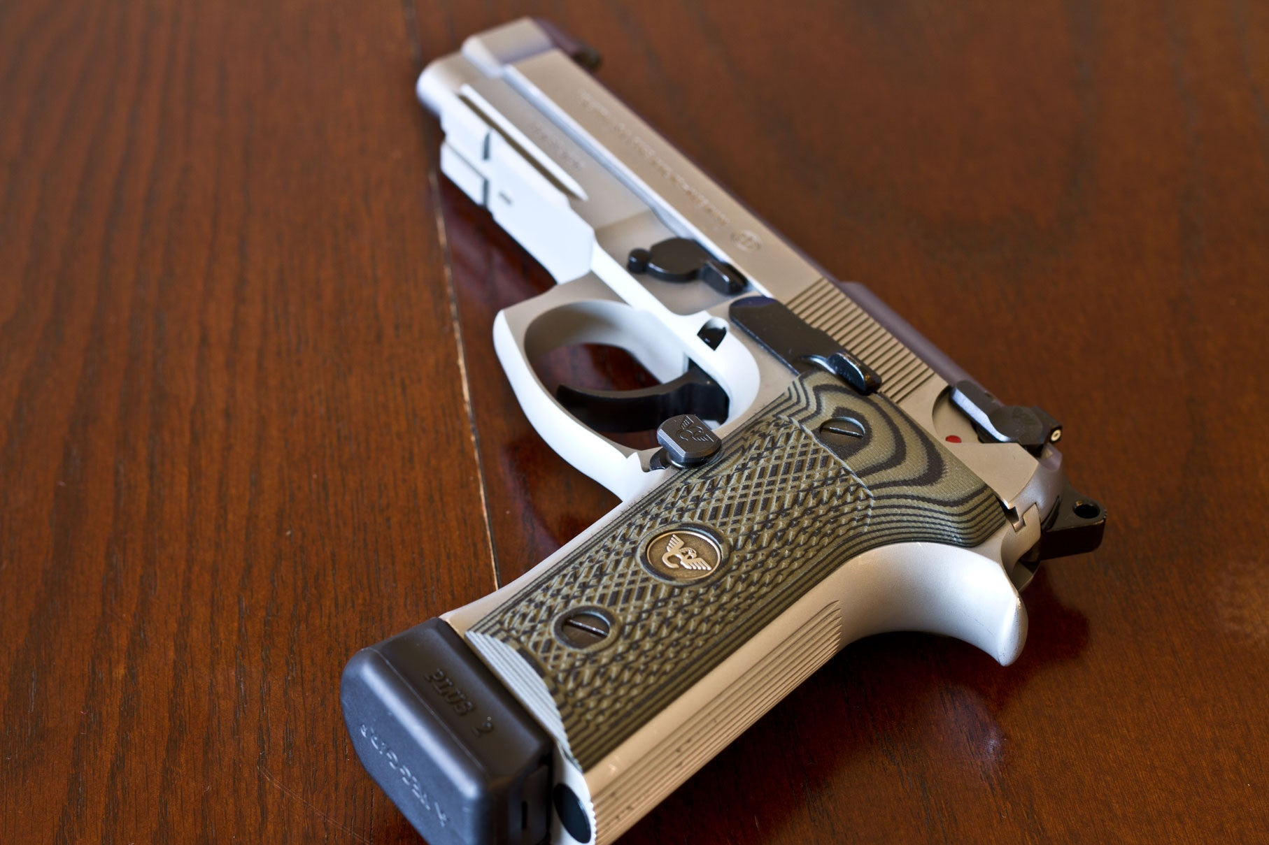 Review on Beretta 96 Vertec with Wilson Combat Upgrades