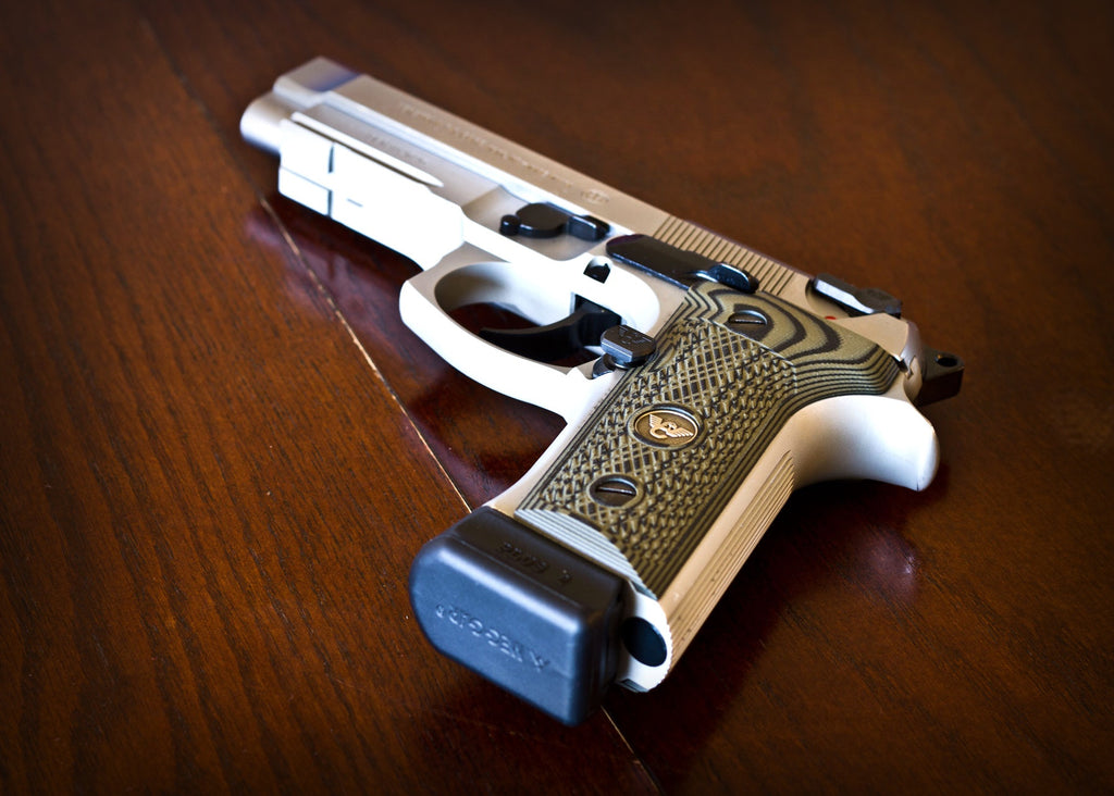 Beretta 96 with Wilson Combat Parts Installed