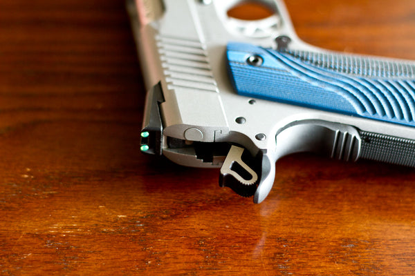 Grip Safety on Ruger SR1911