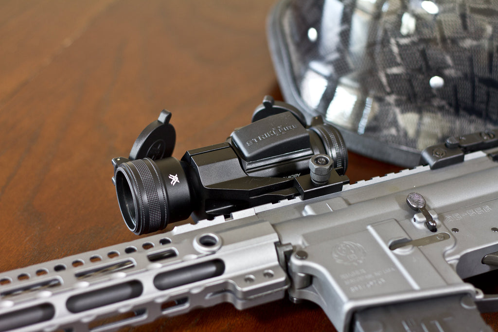 Vortex Strikefire 2 on Ruger AR-556