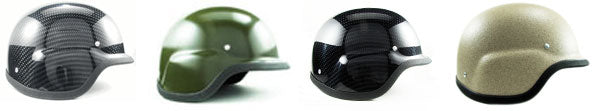 Military Style Motorcycle Helmets