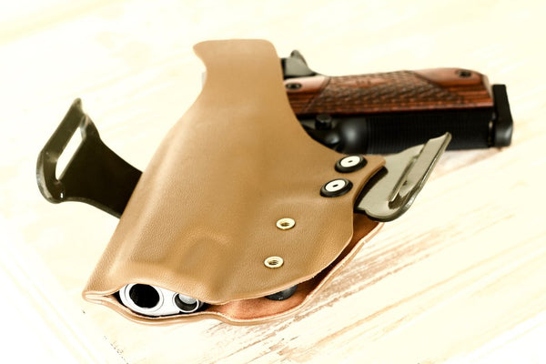 back of the Skull Crush 1911 holster