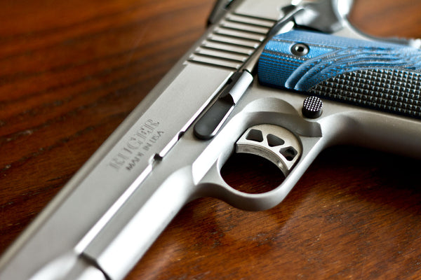 Trigger on Ruger SR1911