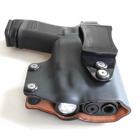 Weapon Light Outside the Waistband Holster