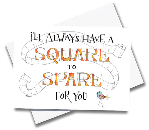 Square to Spare Card