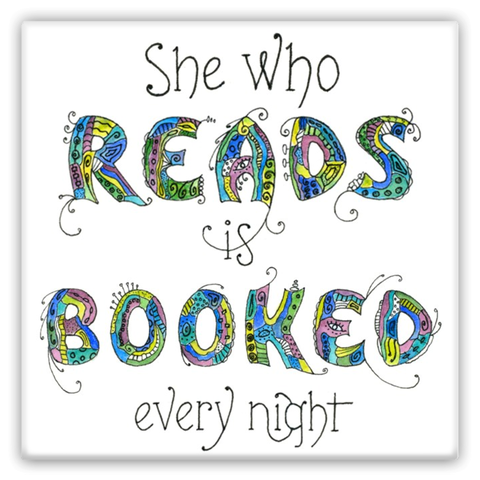 Magnets - She Who Reads