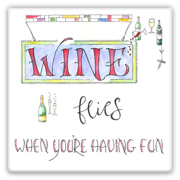 Magnets - Wine Flies