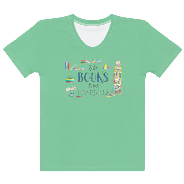 Women's Crew-Neck T-shirt - Hoarding in Green