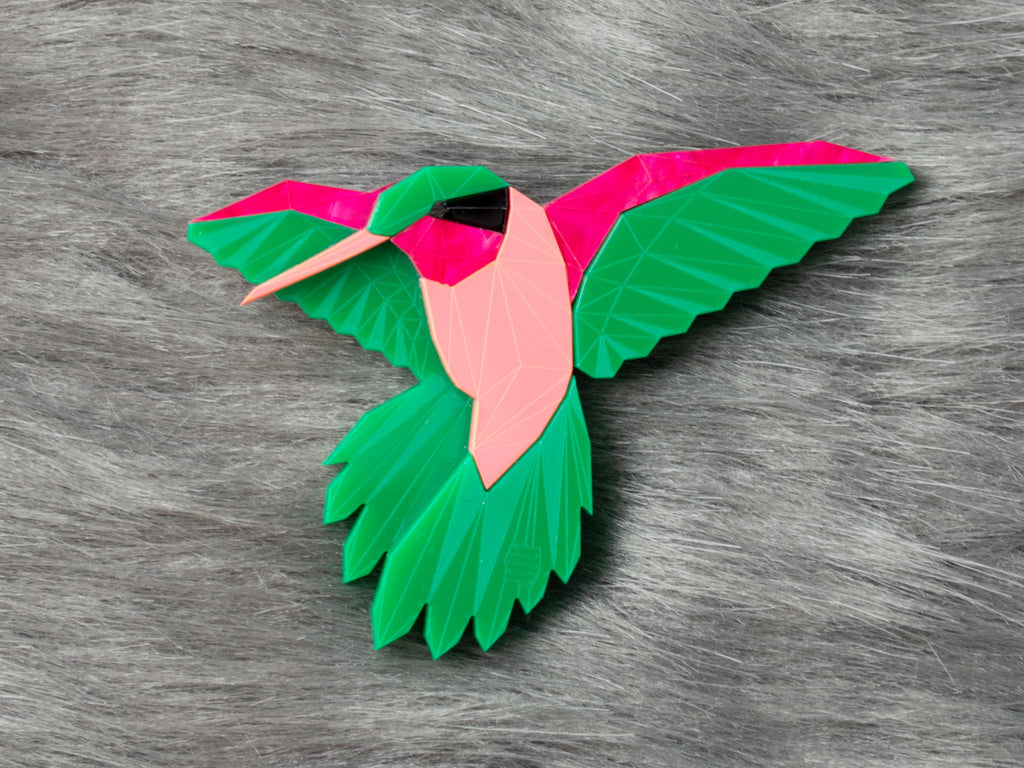 Hummingbird - Watermelon