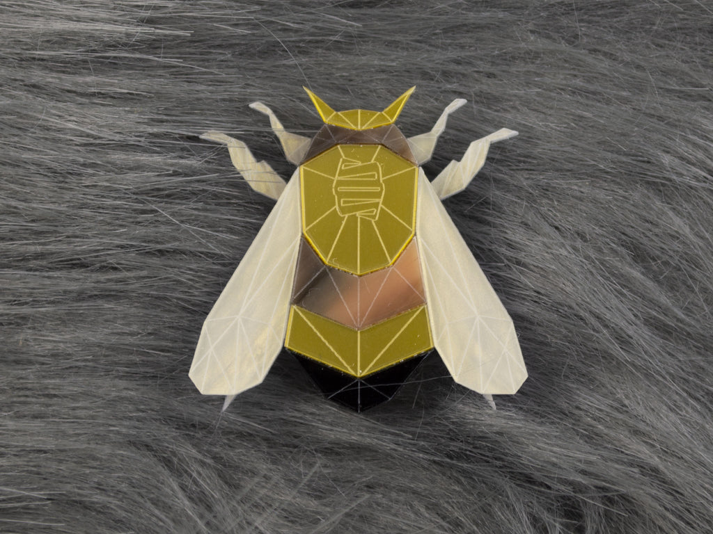 Bumblebee Brooch - Lost City