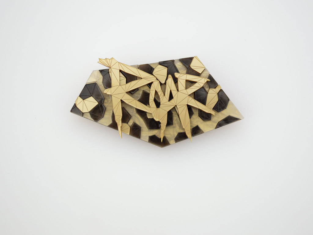 Roar Brooch - Lost City