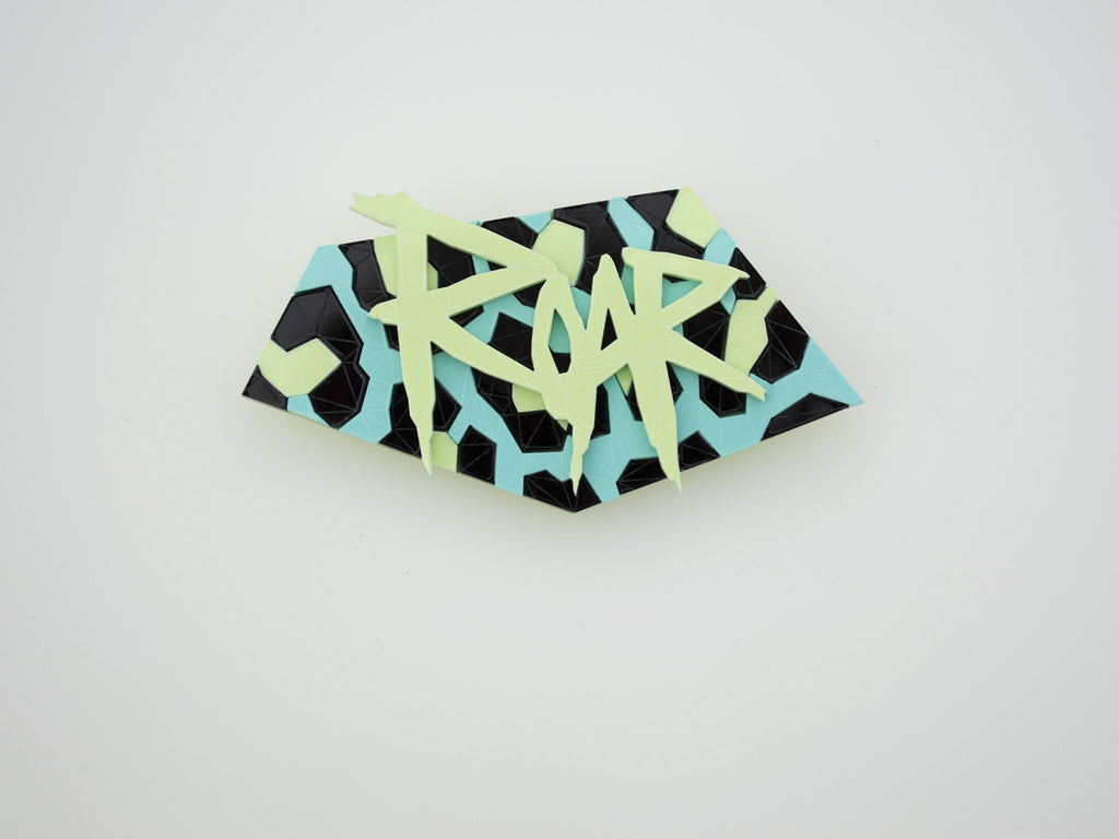 Roar Brooch - Toxic