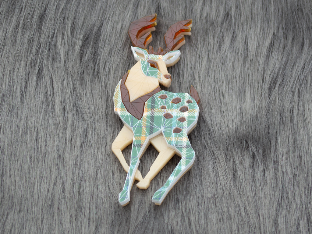 Winter Stag - Holy Isle