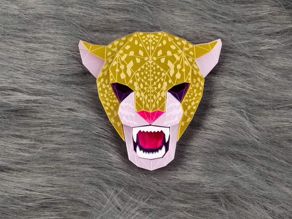 Jaguar Head - Jewel