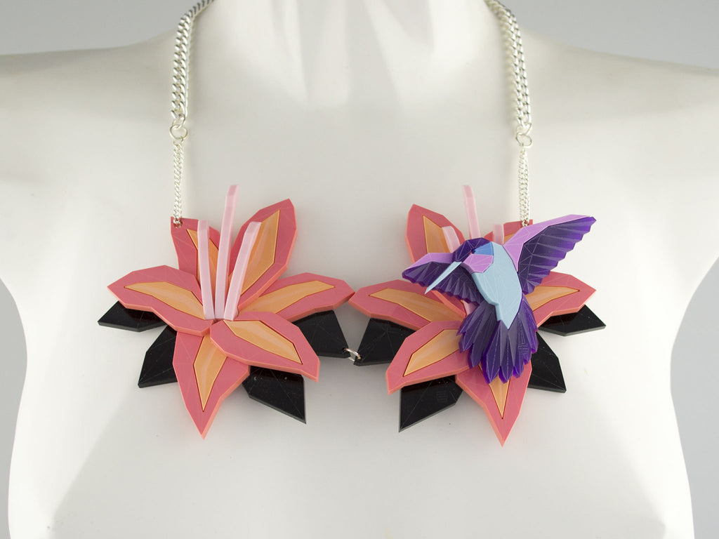 Lily Necklace Set