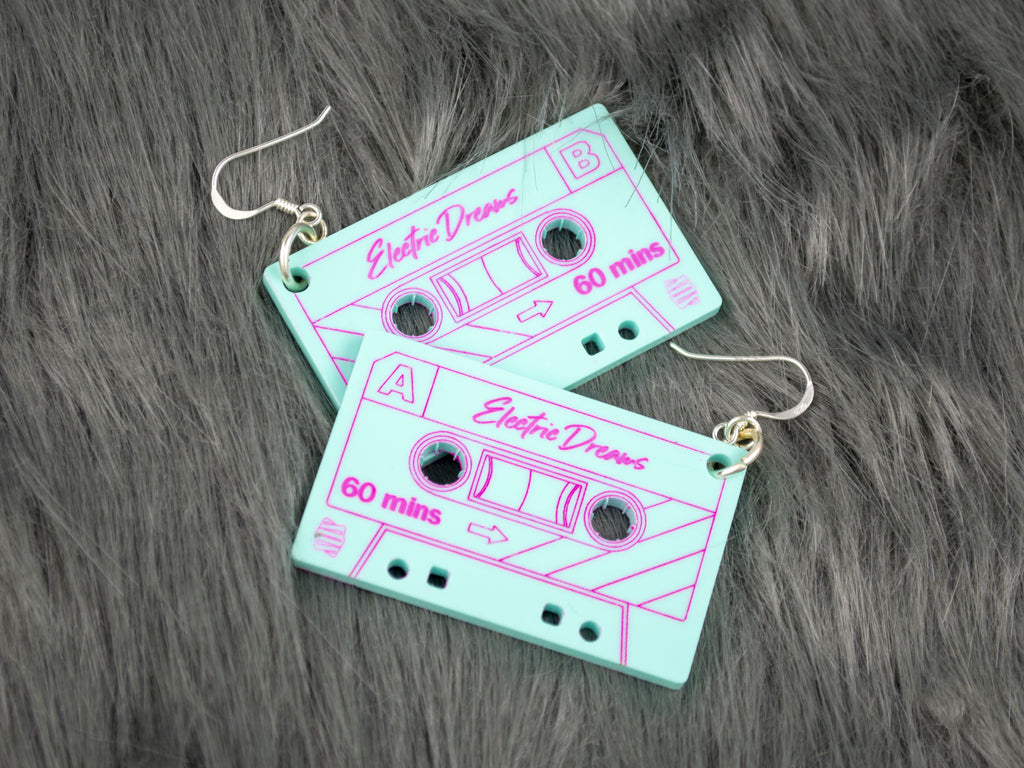 Electric Dreams Earrings - Turquiose