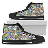 Stop War High Top Sneakers