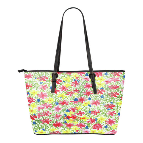 Wild Flower Small Tote Bag