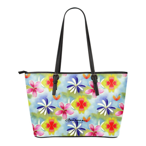 Sunrise Floral Small Tote Bag