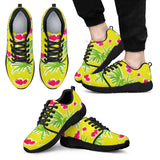 Strawberry Tropic Athletic Sneakers