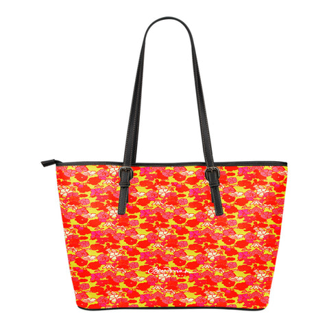 Sixties Floral Small Tote Bag