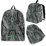 Tire Scribbles Back Pack