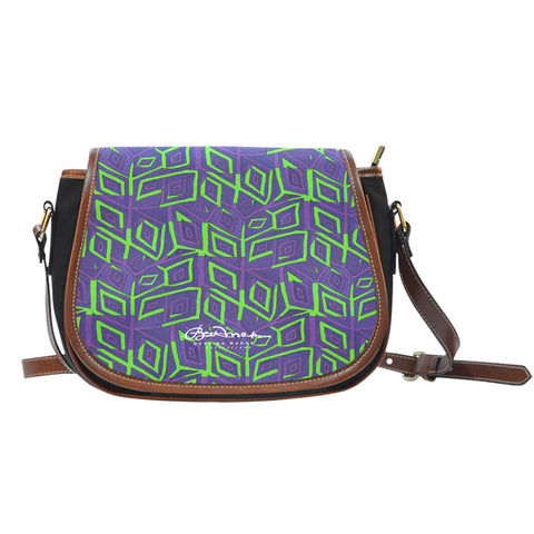 Joker Madness Saddle Shoulder Bag