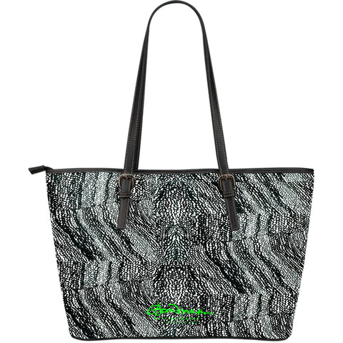 Tire Scribbles Large Tote Bag