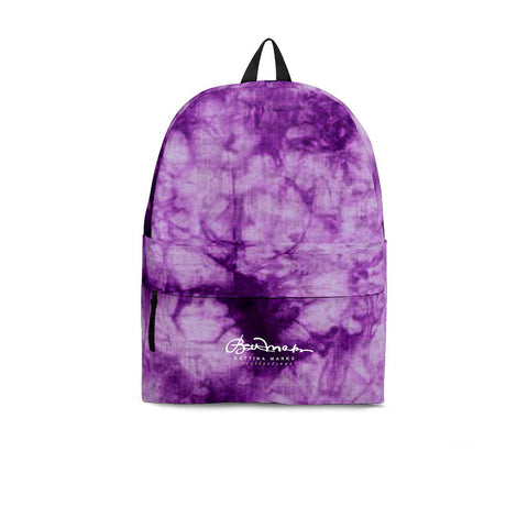 Purple Tie Dye Back Pack