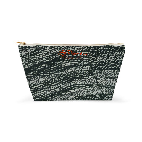 Tire Scribbles Design -- Accessory Pouch T-Bottom