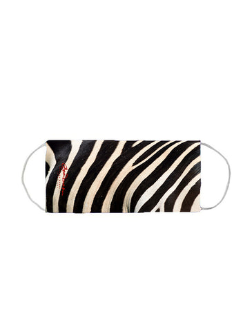 Face Mask (w Pleats for Filter) (Zebra)