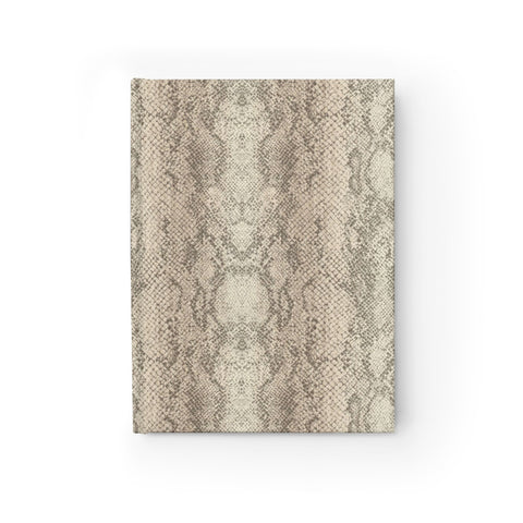 Authentic Snake Skin Print Journal