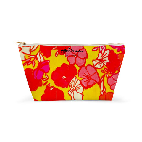 Sixties Floral Accessory Pouch T-Bottom