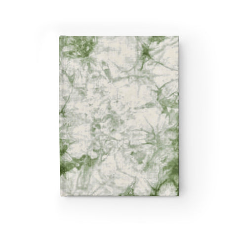 Sage Tie Dye Journal