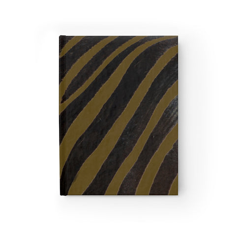 Olive Zebra Journal