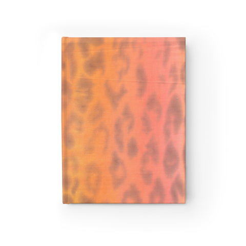 Ombre Leopard Journal