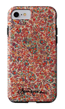 Retro Paisley iPhone Tough Case