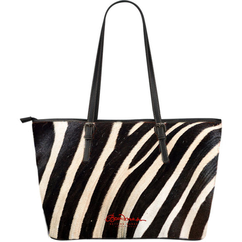Wild (select color) Zebra Large Tote Bag