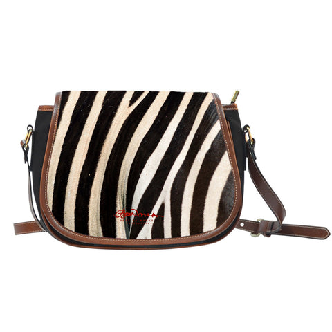 Wild (select color) Zebra Saddle Shoulder Bag