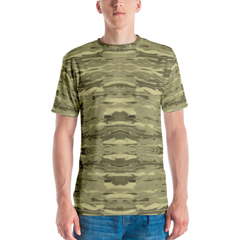 Khaki Lava Lamp Men's T-shirt