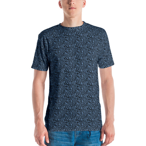 Blue Zebra Men's T-shirt