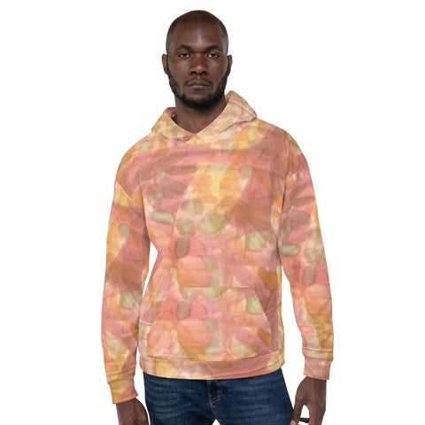Unisex Hoodie - Watercolor Smudge - Men
