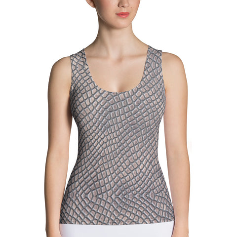 Crocodile Skin Tank Top