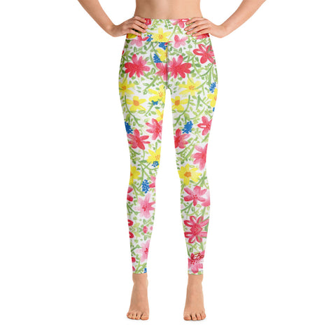 Wildflower Yoga Leggings